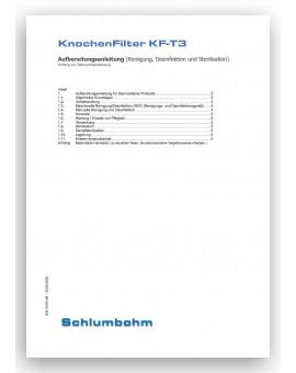 Aufbereitungsanweisung KnochenFilter KF-T3